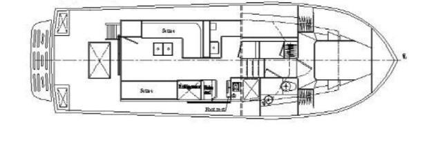 Mariner Orient 38 interior layout