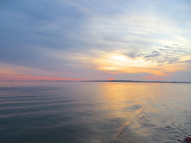 A sunrise farewell to Block Island