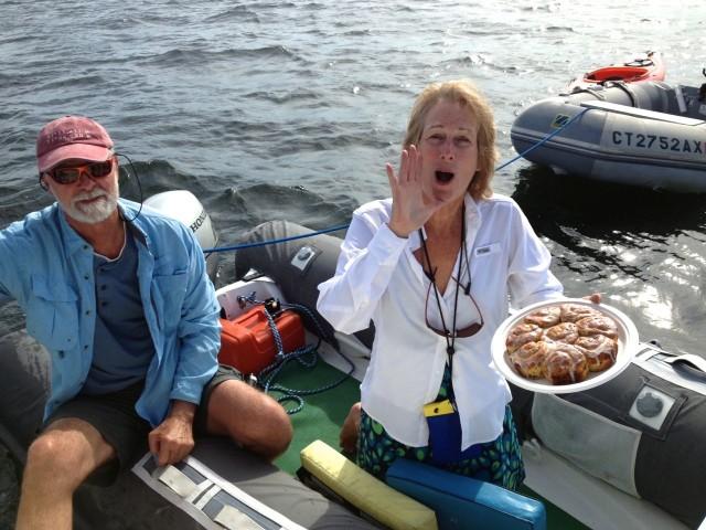 "MY boat, calling out ""Coffffeee onboooard your booooat"""