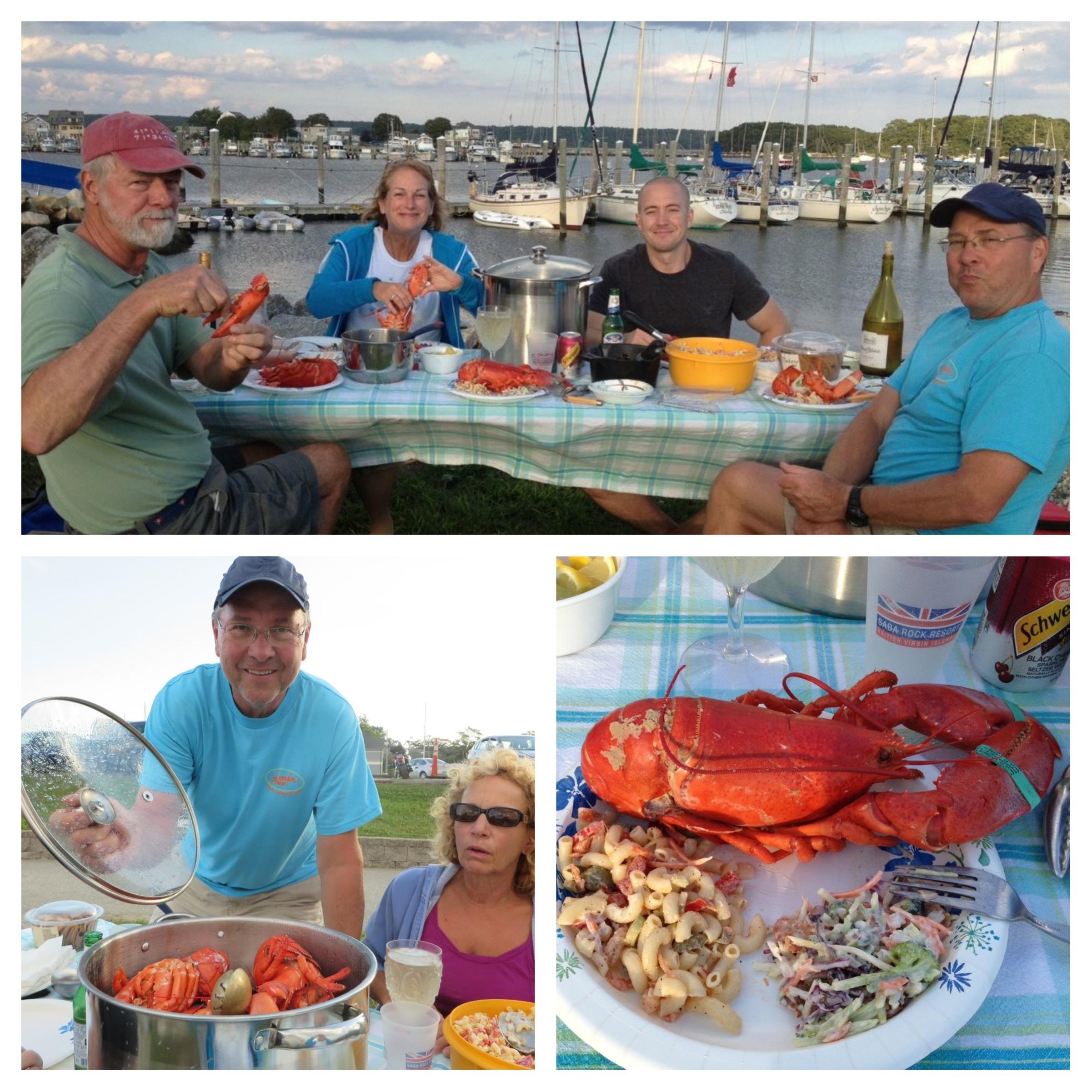 Lobsters ala Dean!