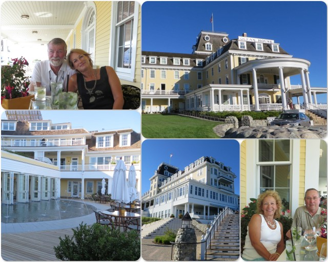 Celebrating our 19th wedding anniversary at the Ocean House