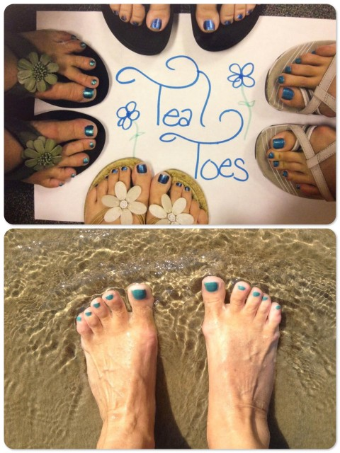 "~Teal Toes at Buttonball Elementary, 2nd Grade, 2012 ~ My ""Naughty Nautical /Teal Toes"