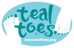 Teal Toes - Take Early Action and Live