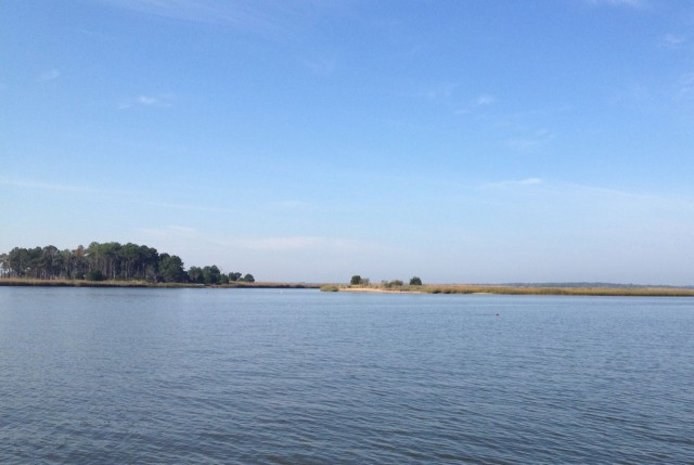 A beautiful day in the ICW in the Low Country