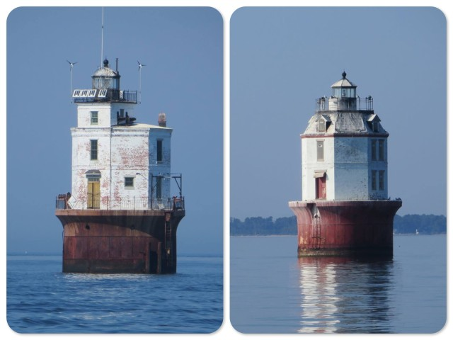 Point No Point Lighthouse and Smith Lighthouse