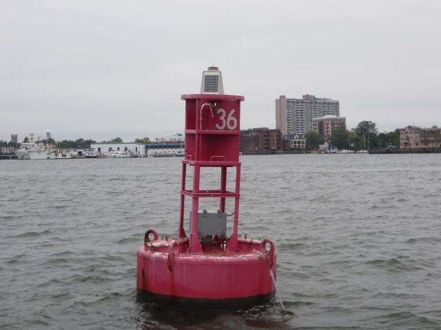 "Mile Marker 0 = ""R 36"" The start of the ICW"