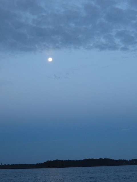 Full moon over Bellhaven
