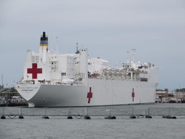 Navy Hospital ship - Comfort