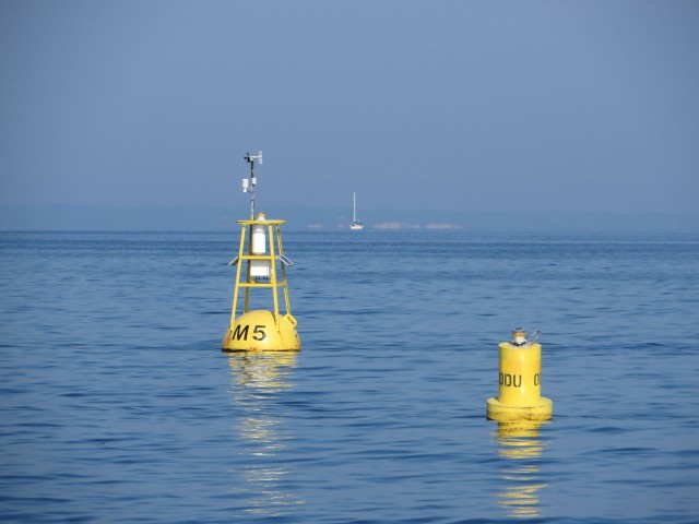 A NOAA weather buoy!