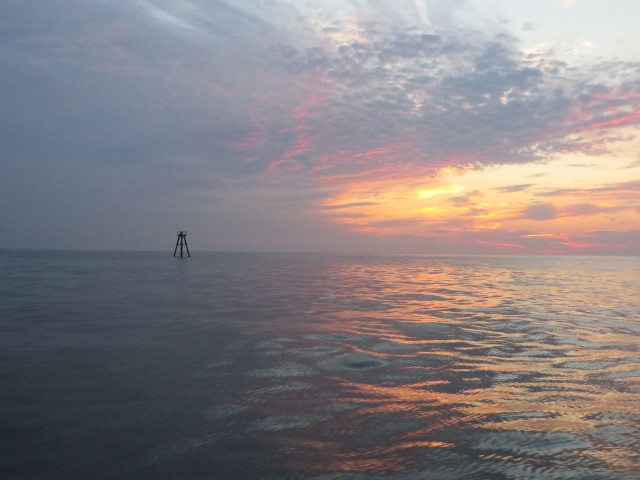 Offshore dawn