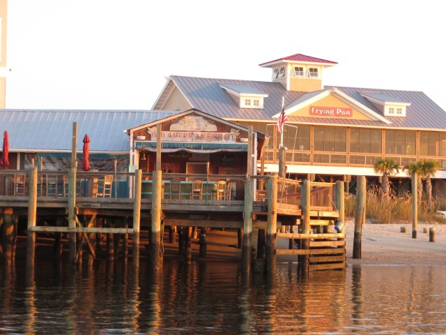 Southport docks