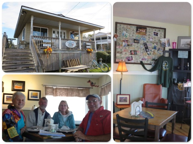 The Bean, a great little spot with local flavor. ~Joyce, Al, Michele and Tom