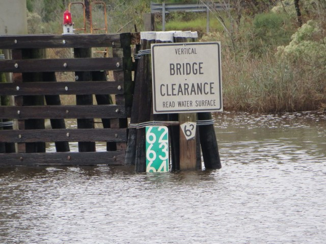 This is one bridge that really needs the measurement sign.