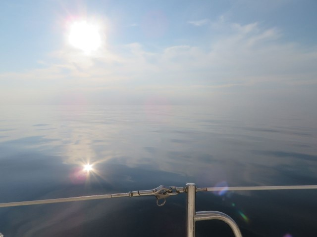 VERY calm and flat seas