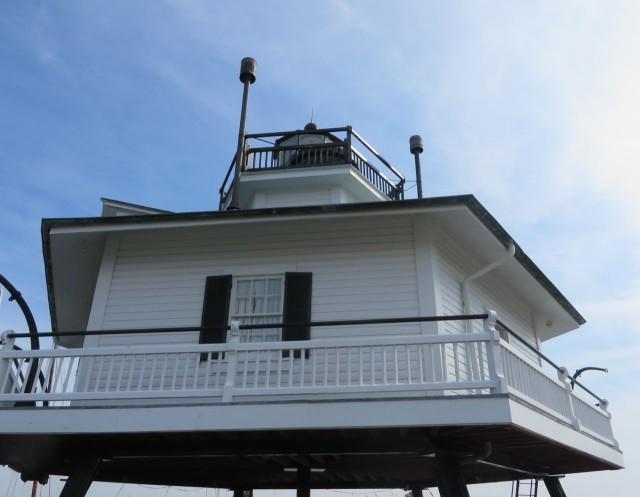 Hooper Strait,  screwpile lighthouse
