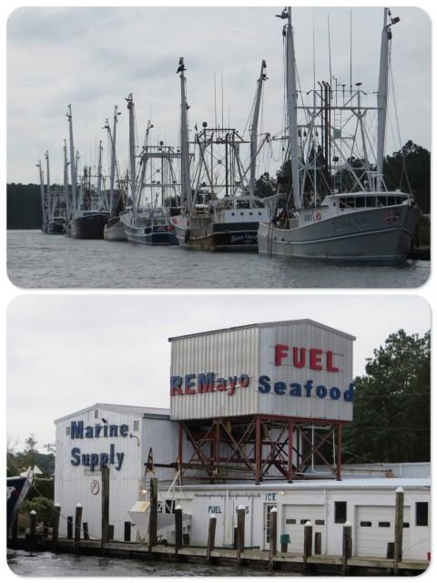 R.W. Mayo shrimping boats