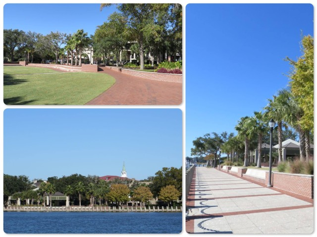 Beaufort has an amazing waterfront park