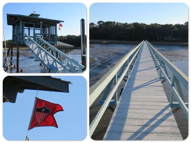 It is long dock!