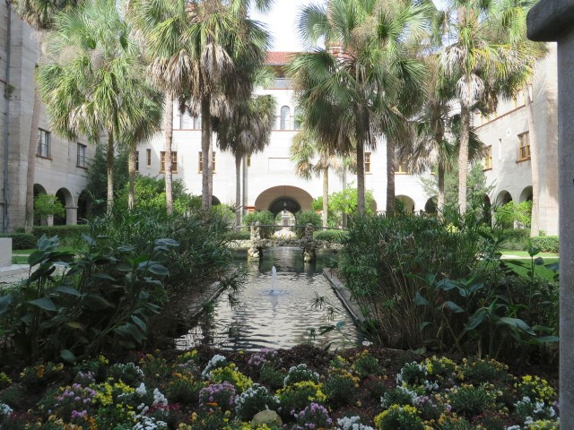 Courtyard of the Hotel Alcazar