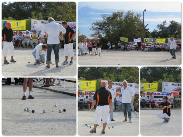 The game of Petanque