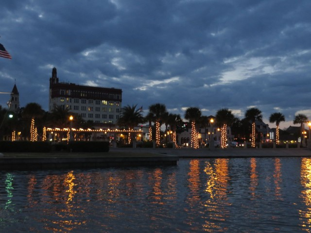 Night lights in St Augustine
