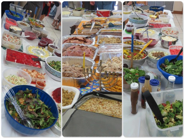 There was no shortage of delicious food!