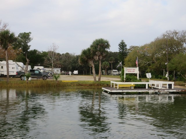 Fishing camp on the ICW