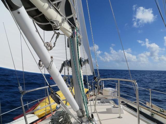 A beautiful day to cross the Gulf Stream!