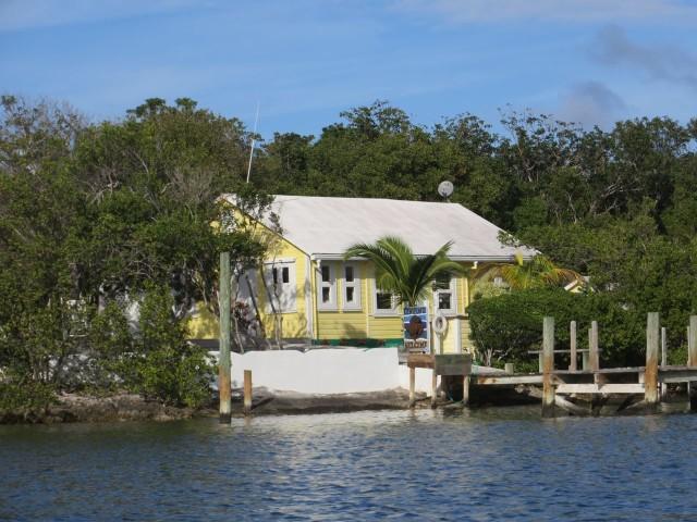 A cottage on Black Sound