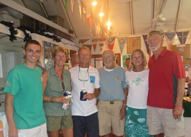 Kindred Spirit's multi-generational crew - Dave, Marcia, Dan, Whitey, Michele And Al