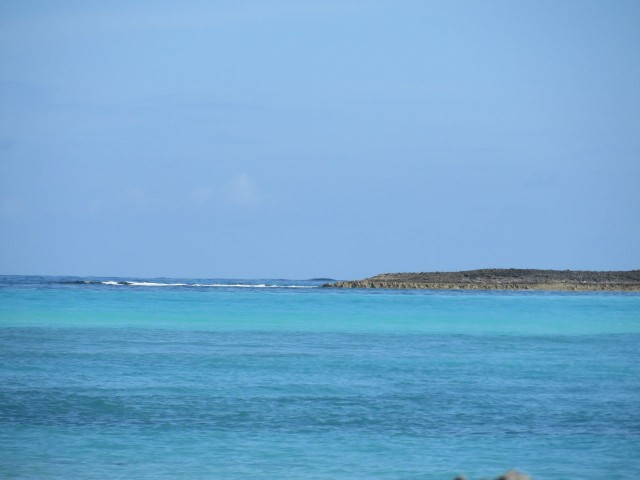 Looking out Gillam Bay at the beautiful blues. How can blue not be a favorite color?