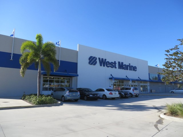 The Mega Flagship West Marine Store - biggest one anywhere!