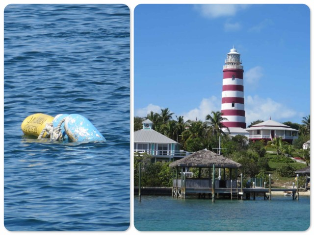 "We left our little yellow ""Reserved Kindred Spirit"" buoy tied to our mooring and said ""see you later"" to our lighthouse."