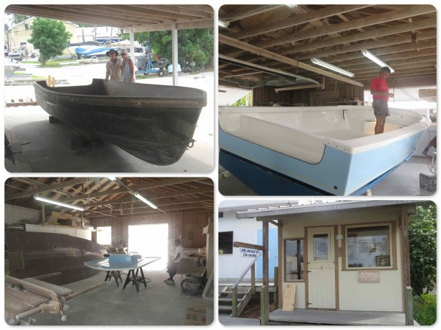 Building an Albury boat