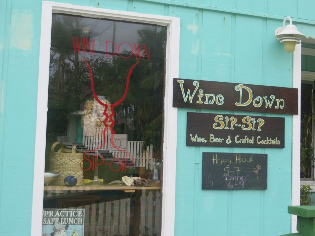 Wine Down Sip Sip, a great little wine bar
