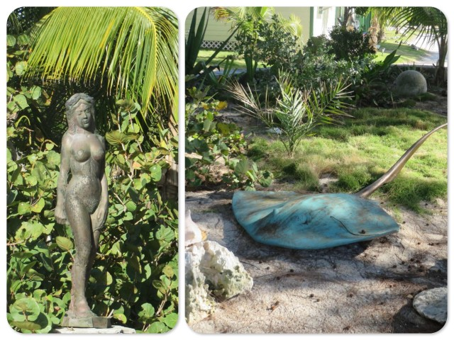 Two examples of Pete's work that were in an outdoor setting..