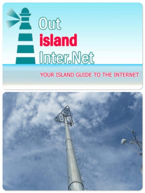 ~Out Island Internet ~ The BaTelCo cell phone tower.