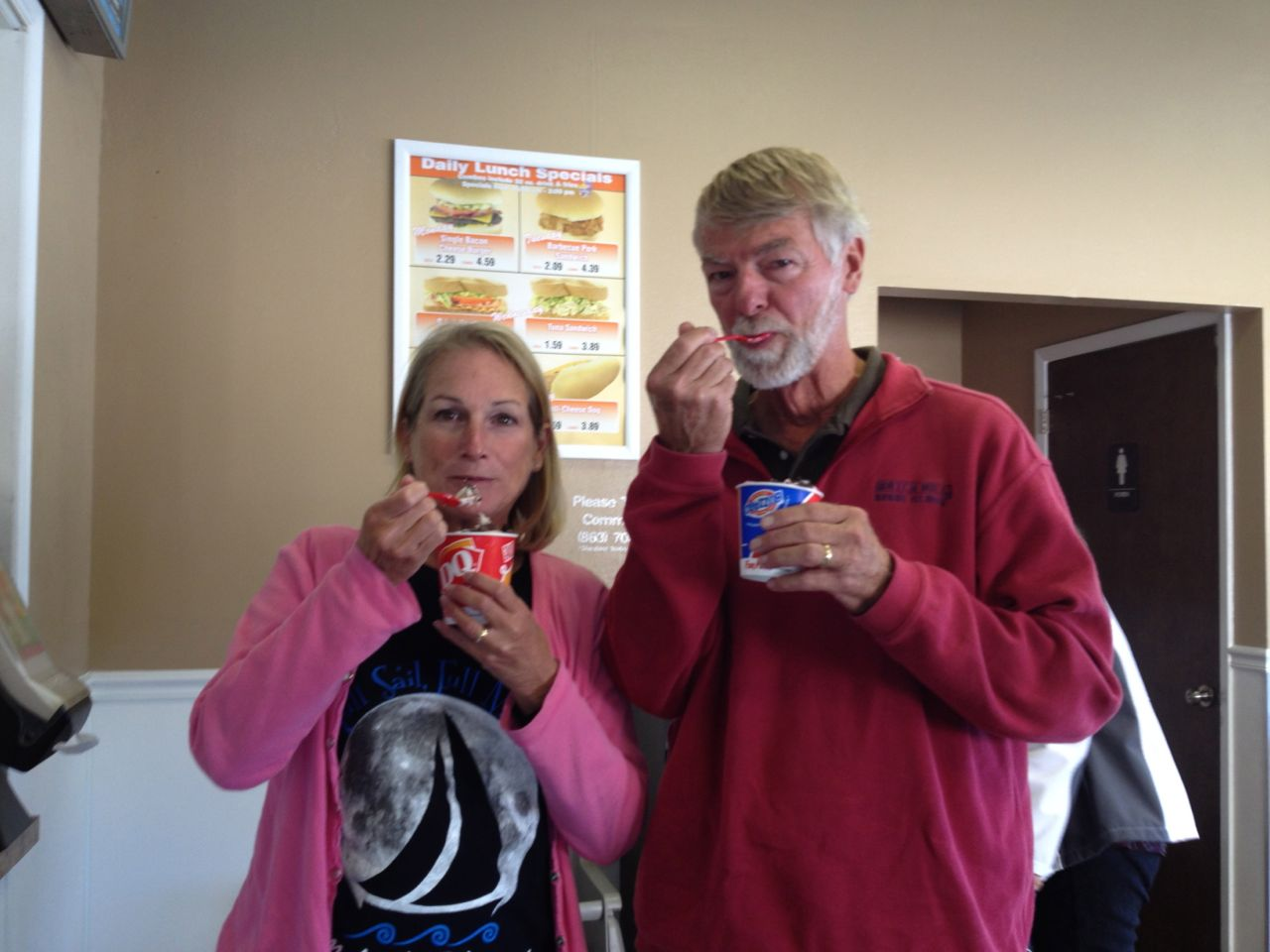 Our first Dairy Queen Blizzards in over 6 months!!