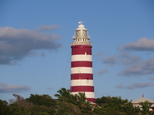 "Elbow Cay Lighthouse, the ""candy-striped lighthouse"""