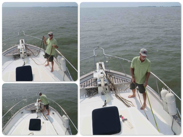 Measuring the anchor lines