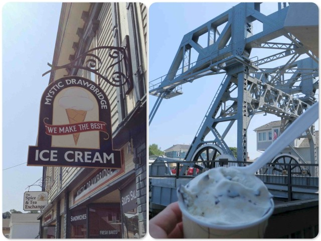 A stop at Mystic Drawbridge Ice Cream is a MUST. Their Lemon Chocolate Kiss is to die for!