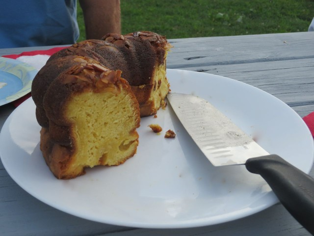 "Ending with Rum Cake, officially known as ""Great Guana Cay Rum Cake."""
