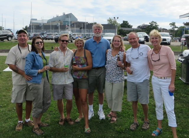 The Bahama gang reunited - Anthony, Annette, Dave, Sue, Al, Michele, Dan, and Marcia