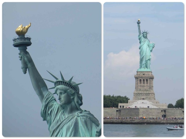 Lady Liberty is still a sight to behold.