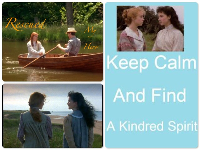 Anne of Green Gables and her kindred spirits.
