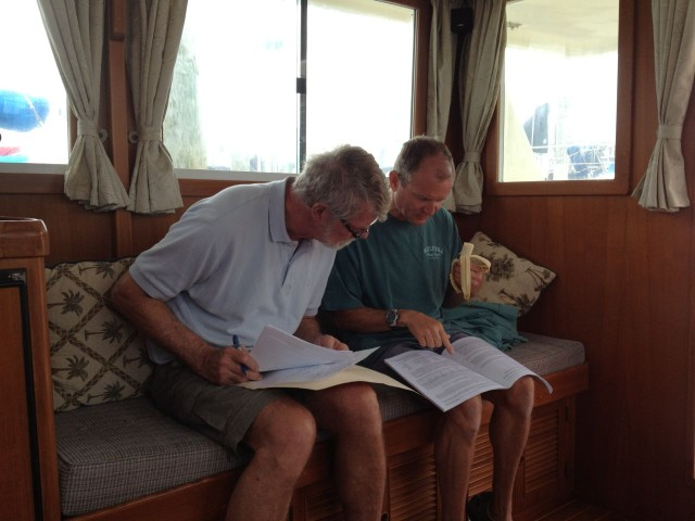 Al consulted with Dan about his plans for adding solar panels. Things have changed (improved) a lot since we put them on the sailboat many years ago.
