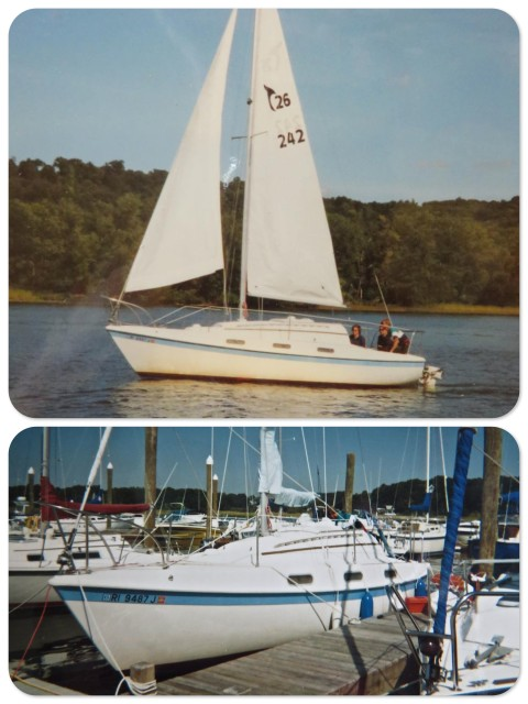 The Tanzer 26, probably around a 1977.