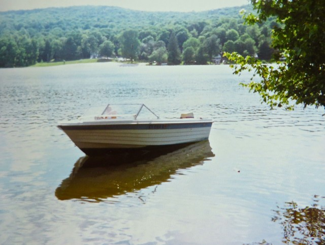 Al and his son, Tim, restored and rehab'ed this little boat when Tim was about 15 years old.