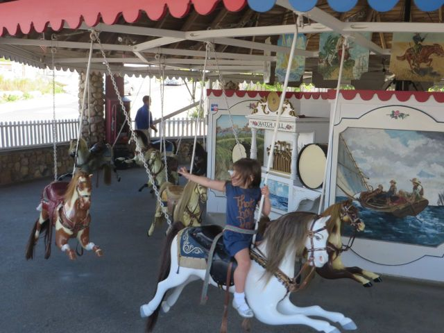 The Watch Hill Carousel. Someday I am bringing the grandchildren here!
