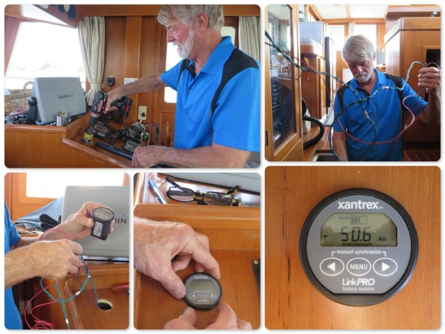 Installation of the Xantrex LinkPro Battery Monitor